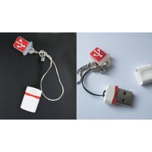 世界最小クラスUSBメモリ 16GB 16ギガUSB キャップ消失防止用アクセサリ付【メール便対象商品】 highvalue