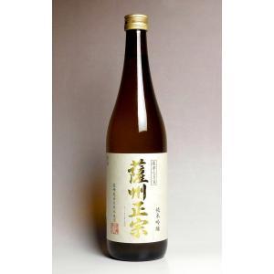 お酒 プレゼント ギフト 日本酒 薩州正宗 純米吟醸酒 15度 720ml 薩摩金山蔵 さっしゅうま...