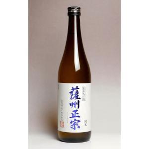 お酒 プレゼント ギフト 日本酒 薩州正宗 純米酒 15度 720ml 薩摩金山蔵 さっしゅうまさむ...