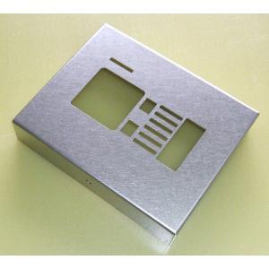 インターホンカバー 箱型 バイブレーション仕上げ  |higuchi