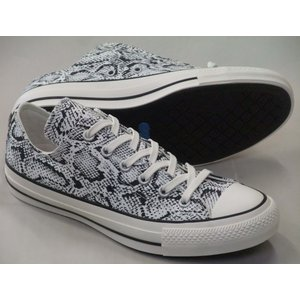 CONVERSE ALL STAR 100 SNAKE OX ホワイト レディース スネーク パイソ...