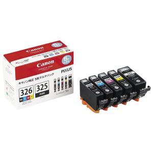 インクカートリッジ5色パック BCI-326+325/5MP|hihshop