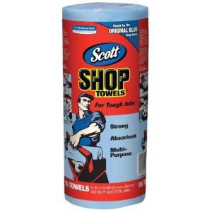 スコット SHOP TOWELS/ショップタオル ブルーロール|hihshop