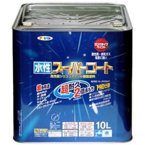 スプレー塗料 塗装 塗料 部品 ペイント 水生 アサヒペン ペンキ 水性スーパーコート 水性多用途 ティントベージュ 10L hihshop