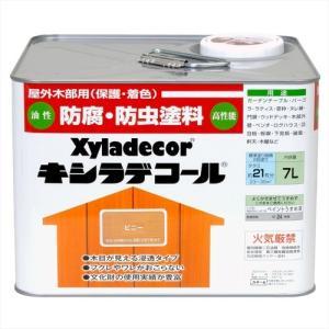 塗料 ペンキ 部品 材料 DIY 工具 大阪ガスケミカル株式会社 キシラデコール ピニー 7L|hihshop