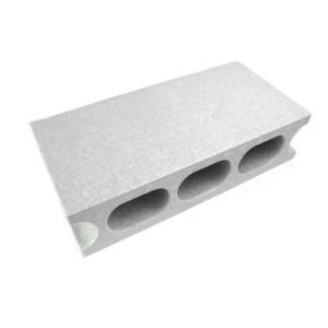 レンガブロック レンガ 建築資材 資材ブロックII グレー 100X190X390mm|hihshop