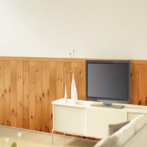 壁紙 内装 エクステリア 住宅設備 MEIWA アクセント壁紙(腰壁シート) 木壁調 92cm×2.5m ブラウン|hihshop