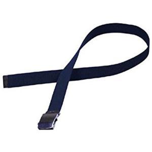 安全帯 アクセサリー 作業用具 作業服 作業工具 用品 保護具 カジメイク 綿GIベルト32mm 紺 002KO|hihshop