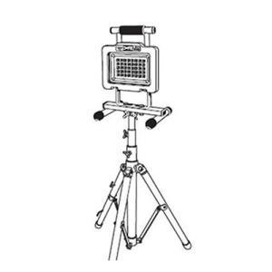 CASTER コード式LED投光器三脚式 CLP-1800AC-TPS|hihshop