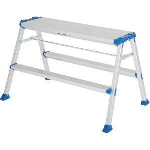 天板幅広踏台 CWX60W アルインコ [踏み台 アルミ 軽量 枠 はしご] hihshop