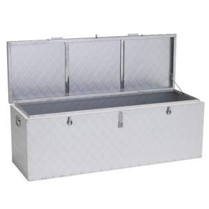 保管庫 収納 家具 エクステリア アルインコ(ALINCO) 万能アルミボックス 大 (242L) BXA135|hihshop