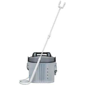 アイリスオーヤマ 噴霧器 電池式 ツインノズル IR-4000W グレーブラック|hihshop