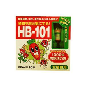 フローラ 植物活力剤 HB-101 1000倍希釈活力液 原液6cc 付、計量カップ 付 30ml×10本|hihshop