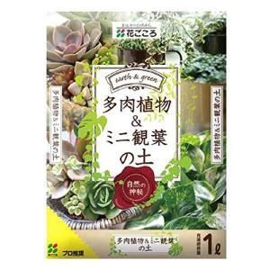 花ごころ 多肉植物&ミニ観葉の土 1L hihshop