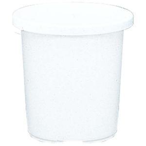 アイリスオーヤマ 鉢 ティルト ケンガイ鉢 10号 ホワイト|hihshop