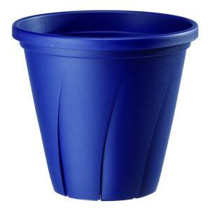 大和プラスチック 根はり鉢 8号 4.8L ネイビー hihshop