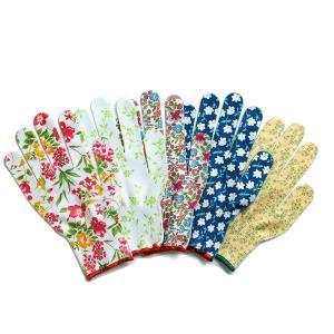 カラフル オシャレ 作業手袋 ワーキング グローブ 5双組 F9049|hihshop