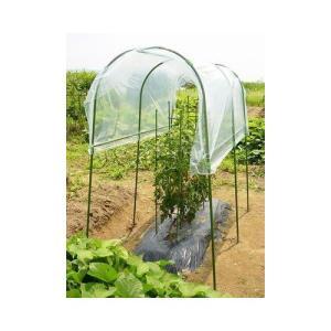 【菜園アーチ・ジョイントの雨よけシートや雨よけハウスに】DAIM 菜園雨ヨケセット|hihshop