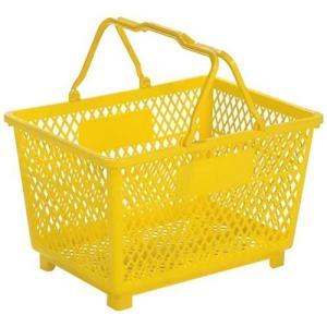 バスケット かご 小物入れ 小物収納 買い物カゴ サンコー PE製 スーパー篭 大|hihshop