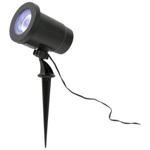 ガーデンライト 庭園灯 門灯 屋外照明 タカショー ローボルト ガーデンモーションプロジェクター スノー|hihshop