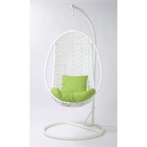 ハンギングチェア 座椅子 スツール インテリア イス パーソナルチェア ハンギングチェアー J9058 WHITE|hihshop