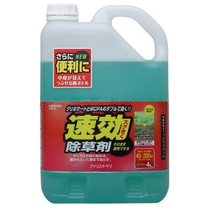 アイリスオーヤマ 除草剤 速効除草剤 4L SJS-4L|hihshop