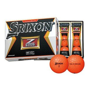 DUNLOP(ダンロップ) ゴルフボール スリクソン Z-STAR 1ダース 12個入|hihshop