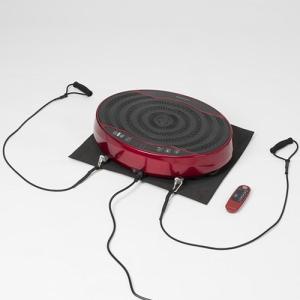 ALINCO(アルインコ) 2D振動マシン バランスウェーブミニ FAV4117R 体幹・筋力トレーニング 振動速度16段階調節 エクササイズバンド・保護マット付き|hihshop