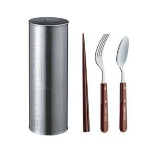 箸 カトラリー 食器(アウトドア) 調理用品 ユニフレーム fanカトラリーセットR 662380|hihshop