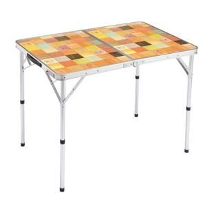 コールマン テーブル ナチュラルモザイク リビングテーブル/90 2000013119 hihshop