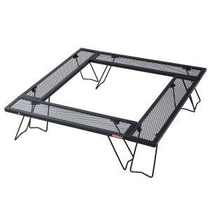 TENTFACTORY(テントファクトリー) ウッドライン スチールワーク コネクションテーブル 4台セット TF-WLSW-C4 hihshop