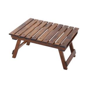 TENT FACTORY(テントファクトリー) テーブル ウッドライン グランドミッドテーブル ブラウニー TF-WLMT-BR|hihshop