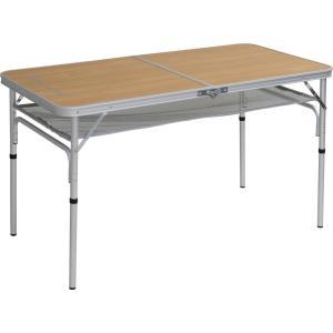 TENT FACTORY(テントファクトリー) デュアルフォールディングテーブル 8040S ナチュラル TF-DFT8040S-NA|hihshop