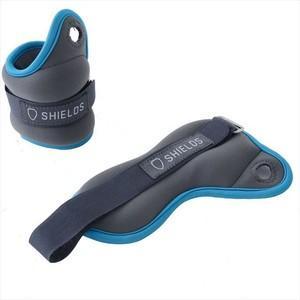 SHIELDS(シールズ) ソフトリストウエイト 0.5kg 2個セット ブルー|hihshop