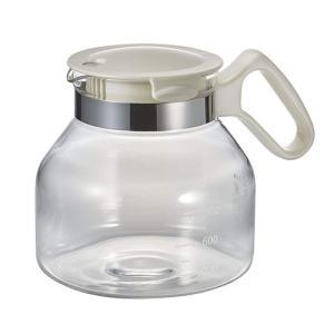 耐熱ガラス製だから熱湯OK。急須やコーヒーサーバーとしても使える大容量1.5Lのガラス製ポット。 熱...
