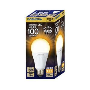 ルミナス LED電球 広配光タイプ 100W相当 電球色 1728lm 口金E26 密閉器具対応 LDAS100L-G|hihshop