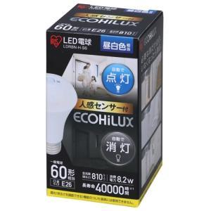 アイリス センサー付LED電球 LDR8N-H-S6|hihshop