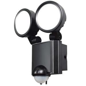 センサー 防犯アラーム セーフティ 防犯 ELPA LEDセンサーライト 2灯 ESL-SS802AC ESL-SS802AC|hihshop