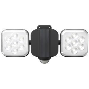 ムサシ RITEX フリーアーム式LEDセンサーライト(8W×2灯) 「コンセント式」 防雨型 LED-AC2016|hihshop
