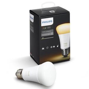 LED蛍光灯 LED電球 電球 照明 Philips Hue(ヒュー) ホワイトグラデーション シングルランプ E26【AmazonAlexa認定取得製品】|hihshop