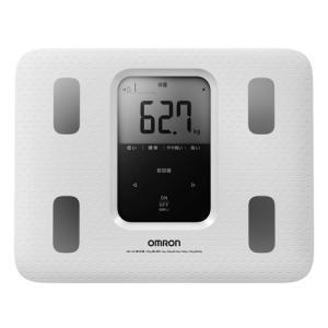 オムロン 体重体組成計 カラダスキャン ホワイト HBF-220-W|hihshop