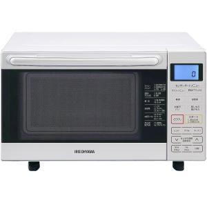 アイリスオーヤマ オーブンレンジ 18L フラットテーブル ホワイト MO-F1801 電子レンジ|hihshop