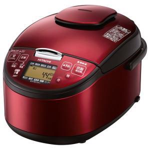炊飯器 キッチン家電 家電 日立 圧力スチームIH炊飯器 5.5合 レッド RZ-SG10J-R|hihshop