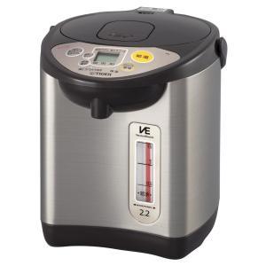 タイガー 魔法瓶 電気 ポット 2.2L ブラウン 節電 VE 保温 とく子さん PIL-A220-T Tiger|hihshop