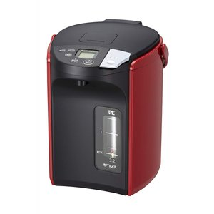 タイガー 蒸気レス VE 電気 まほうびん とく子さん 2.2L レッド PIP-A220-R|hihshop