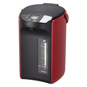 電気ポット キッチン家電 家電 タイガー 蒸気レス VE 電気 まほうびん とく子さん (3.0L) レッド PIP-A300-R|hihshop