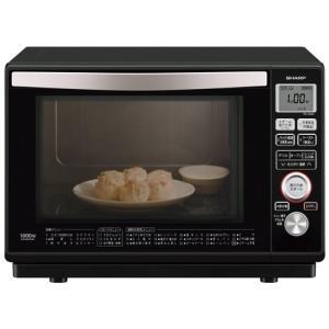 電子レンジ オーブン キッチン家電 家電 シャープ 過熱水蒸気オーブンレンジ 23L ブラック RE-SS8C-B|hihshop