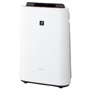 加湿器(本体) 加湿器 空調家電 冷暖房器具 シャープ 加湿空気清浄機 空清18畳まで/加湿11畳まで プラズマクラスター7000 KC-G40-W|hihshop