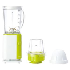 ミキサー ジューサー キッチン家電 家電 コイズミ 小型ミルミキサー グリーン KMZ-0401/G|hihshop