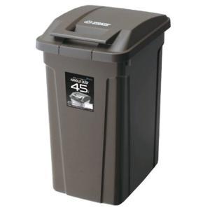 ダストボックス ゴミ箱 文具 日用品 アスベル SPハンドル付ダストボックス45L BRW 6726|hihshop